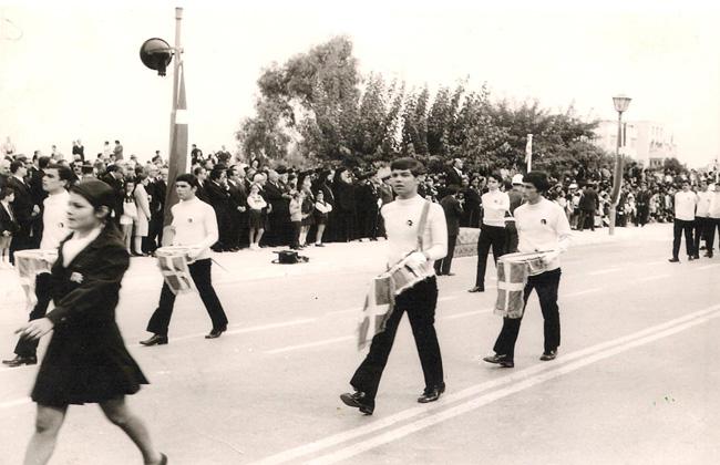 1971-72 / Παρέλαση ΣΤ΄Γυμνασίου