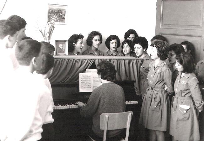 1963-1964 / Πρώτη Χορωδία Παγκρητίου
