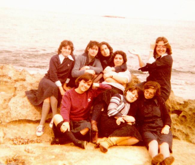 1976 - 1977 / Σχολική Εκδρομή, Στ Γυμνασίου