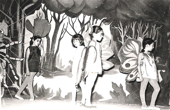 """1971 / Θεατρική παράσταση """"Βιολαντώ"""", κινηματοθέατρο Ντορέ"""