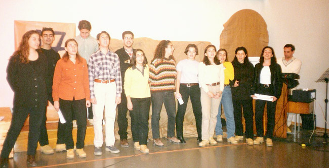 1996 / Εκδήλωση Γ Λυκείου για την επέτειο του Πολυτεχνείου